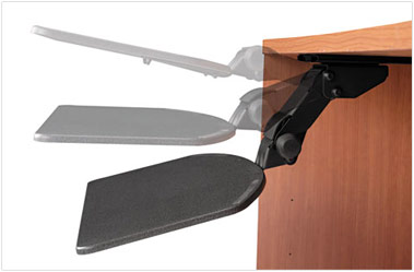 Pictured Above Bbf Articulating Keyboard Shelf